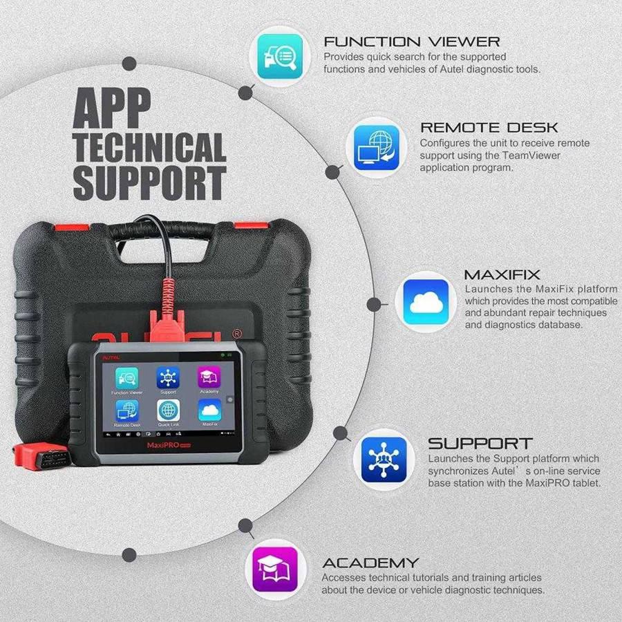 Autel MaxiPRO MP808K tech support