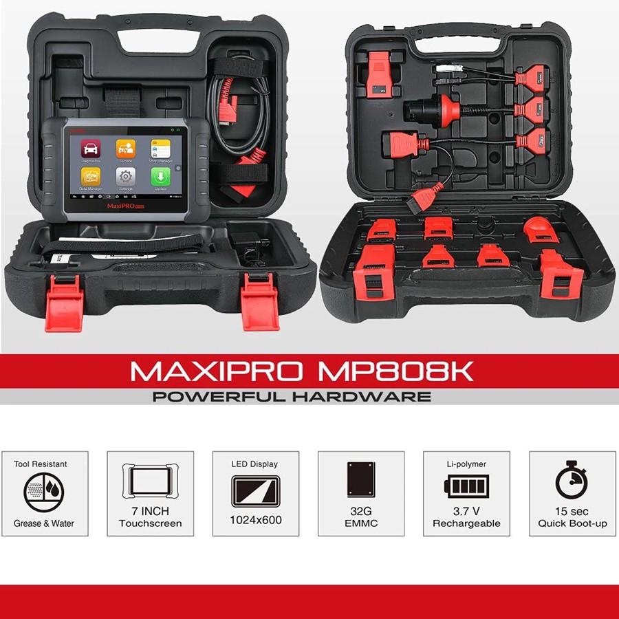Autel MaxiPRO MP808K package