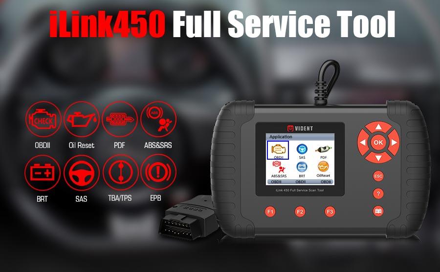 Vident iLink450