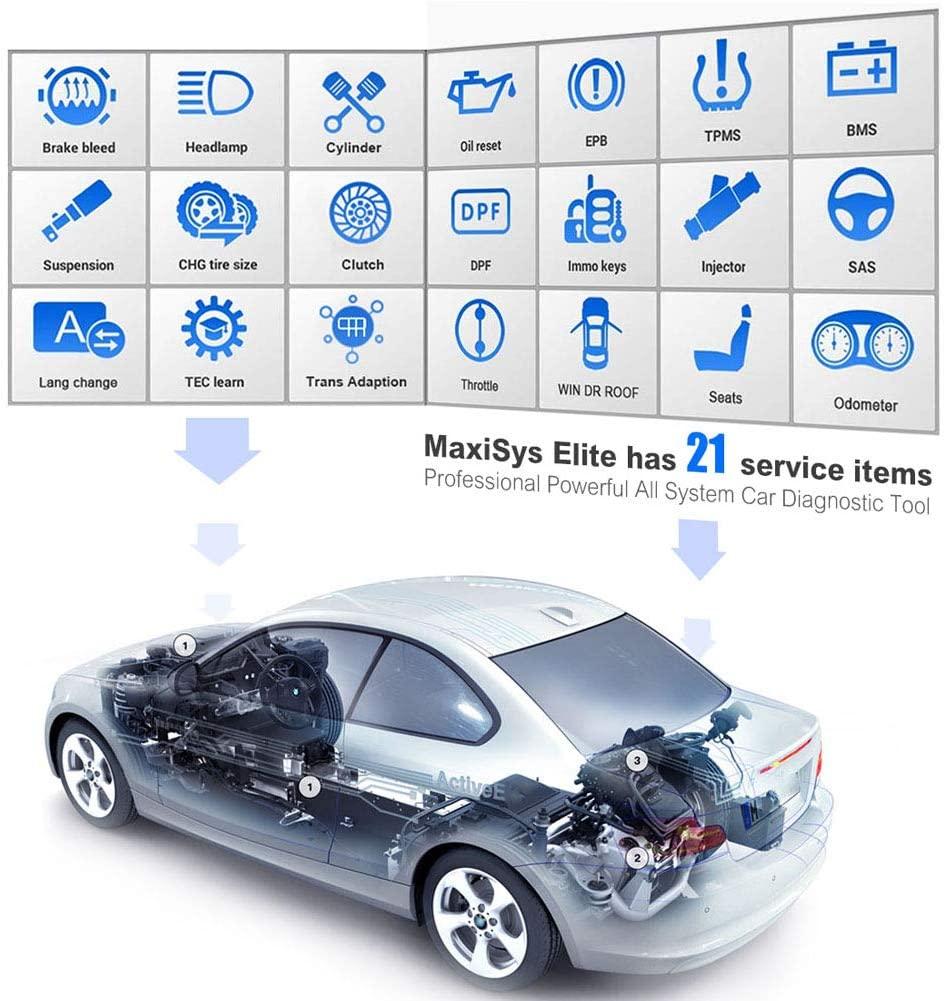 Autel MaxiSys Elite service function