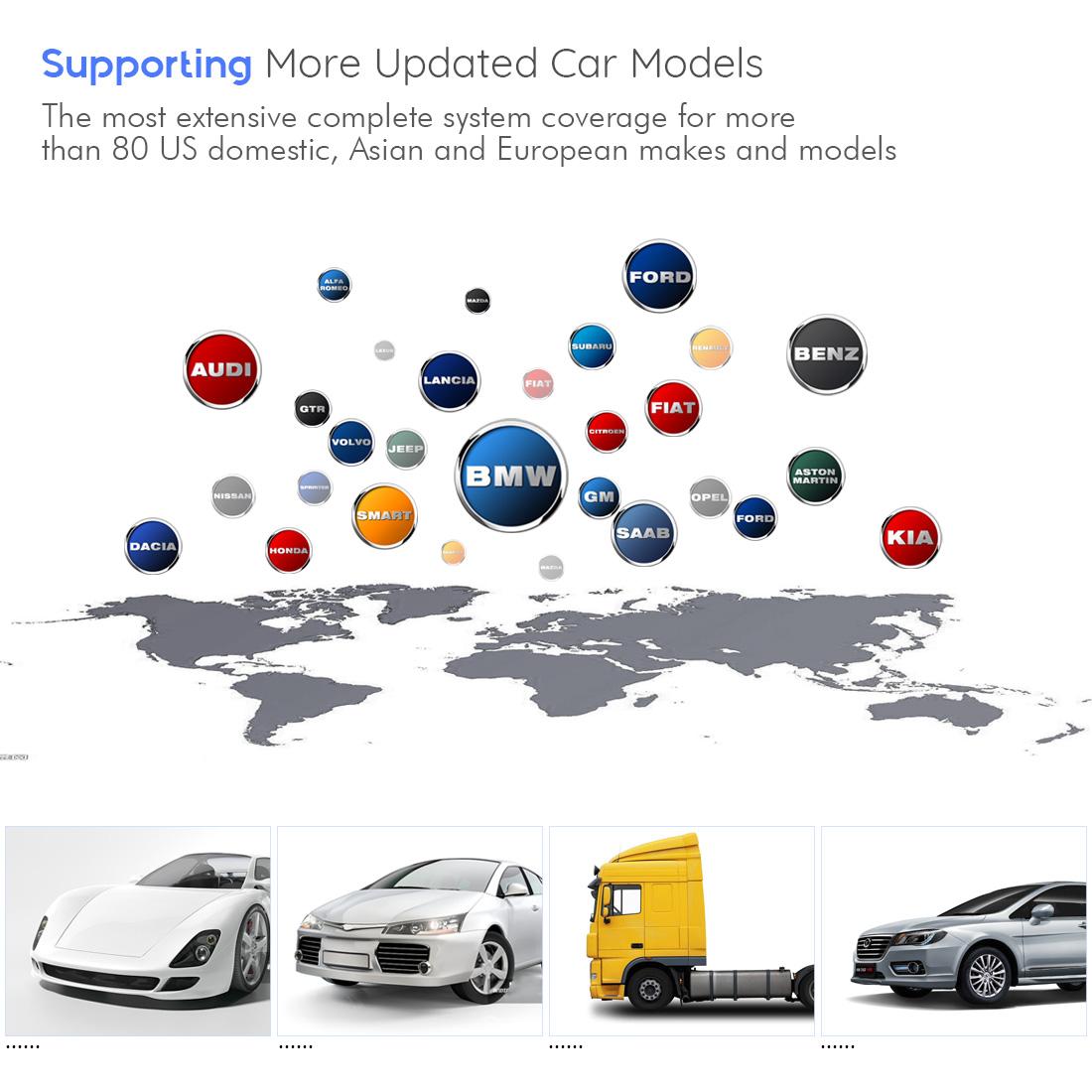 Autel MaxiSys Elite vehicle list