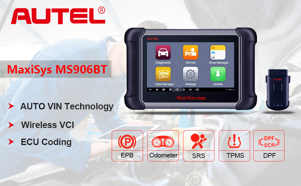 What is AUTEL MaxiSys MS906BT