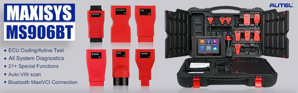 Autel MaxiSys MS906BT Function