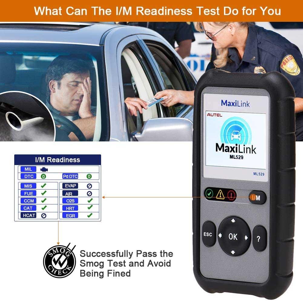 Autel Maxilink ML529 Features