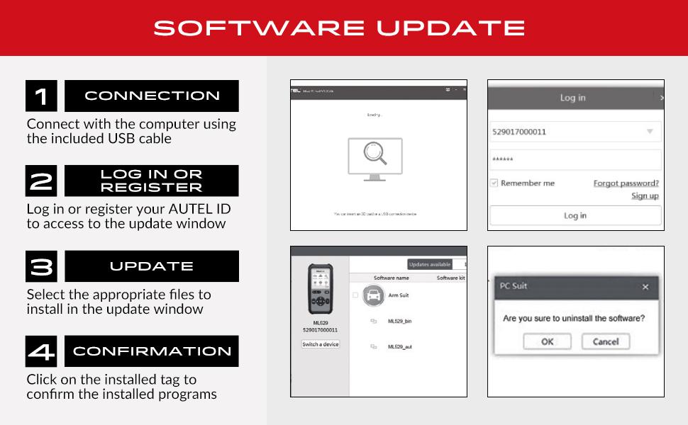 Autel Maxilink ML529 Update