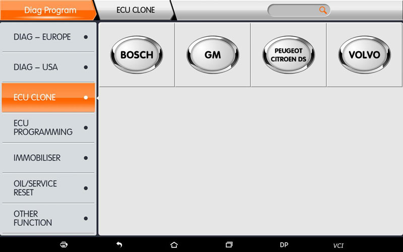 obdstar x300dp plus key programmer ecu clone function