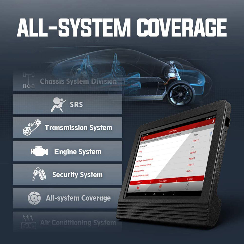 Launch x431 V+ All system diagnosis