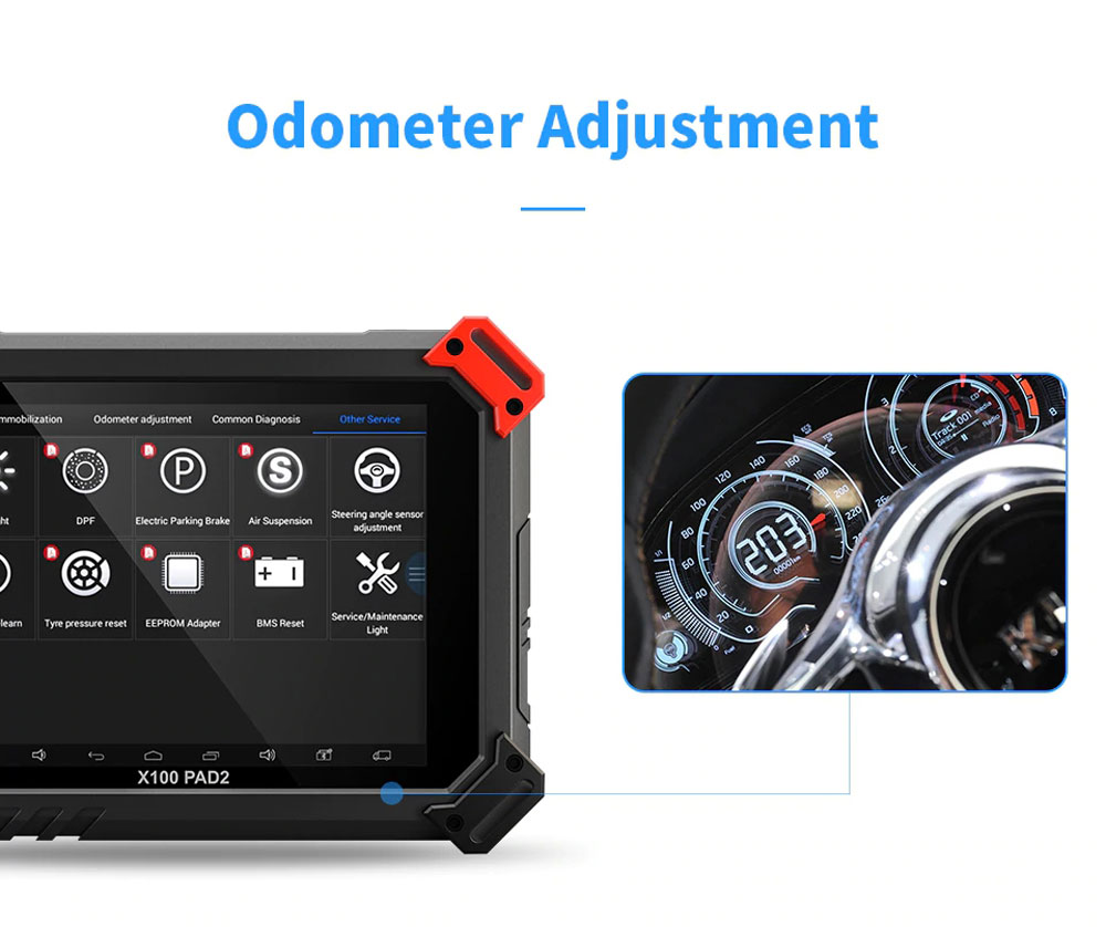 xtool x100 pad2 pro odometer function