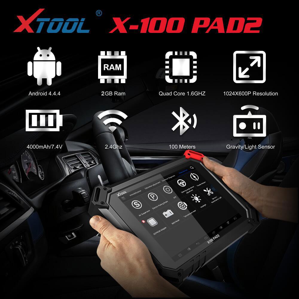 XTool X 100 PAD2 Pro Parameter