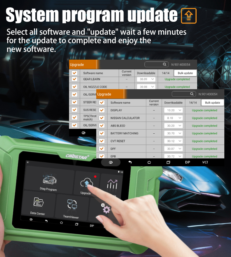 OBDSTAR X200 Pro2 Oil Reset Tool