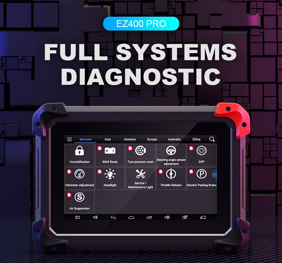 XTool EZ400 PRO Auto Diagnositc Tool
