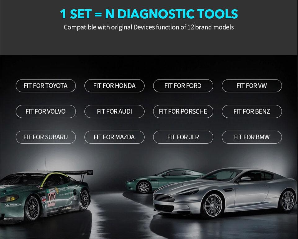 Vxidag multi diagnostic tool