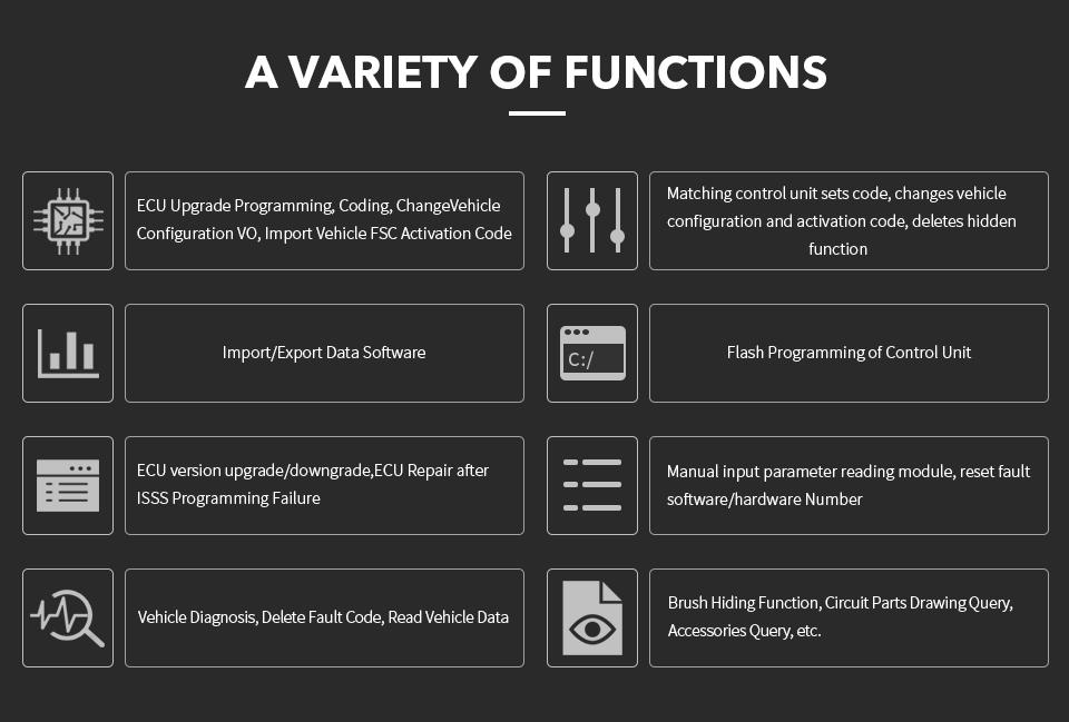 Vxidag multi diagnostic tool for full brand software