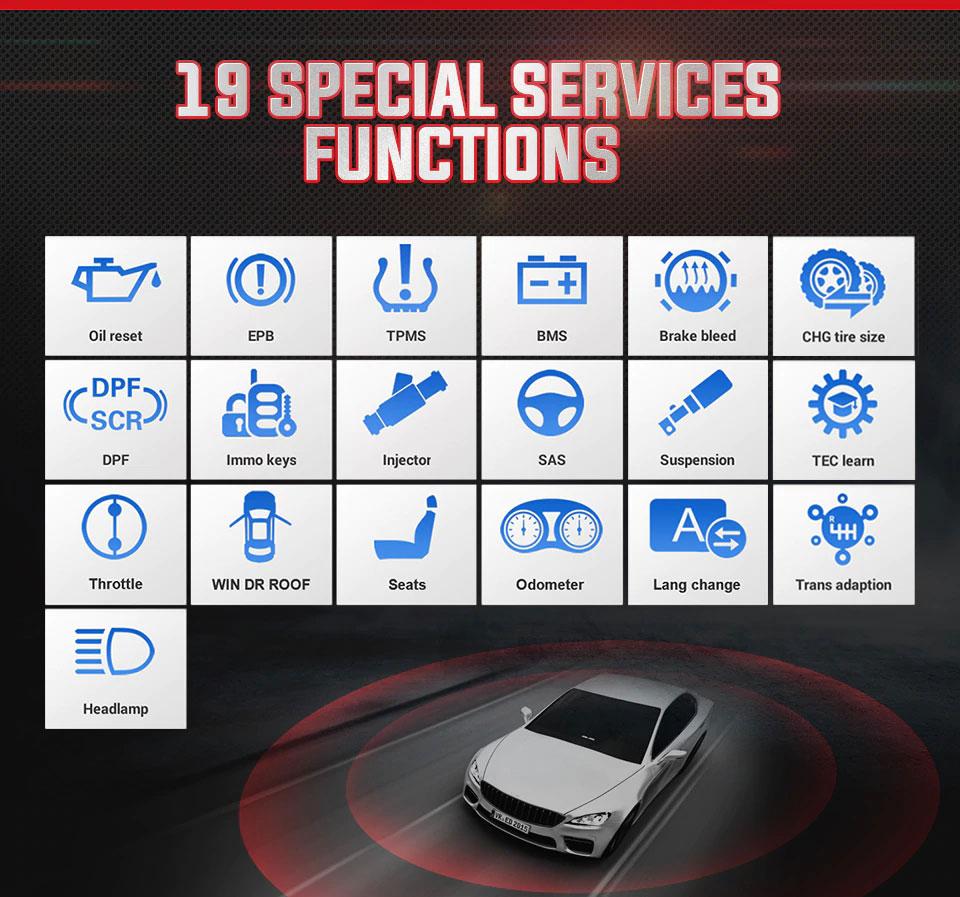 Autel MaxiCOM MK808 special function