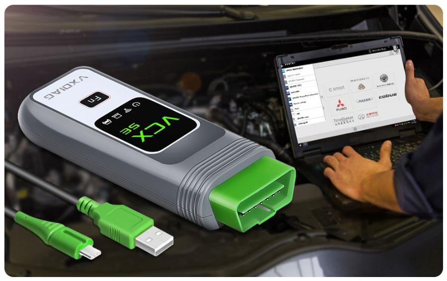 VXDIAG VCX SE for Benz Software