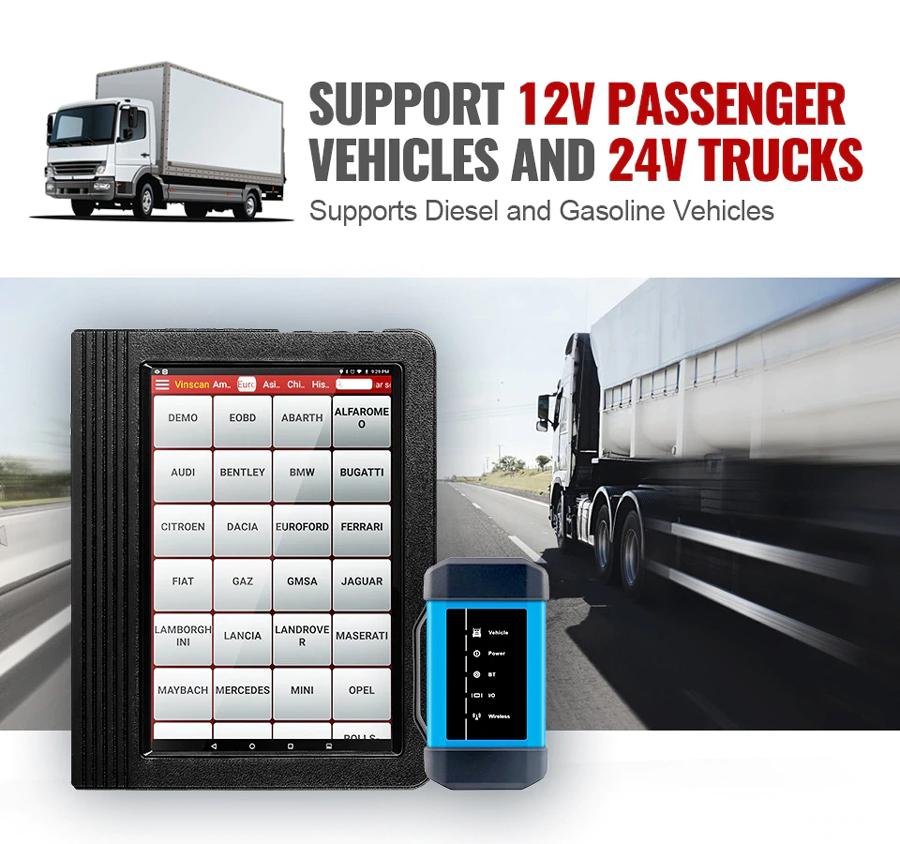 X431 V+ for cars and trucks