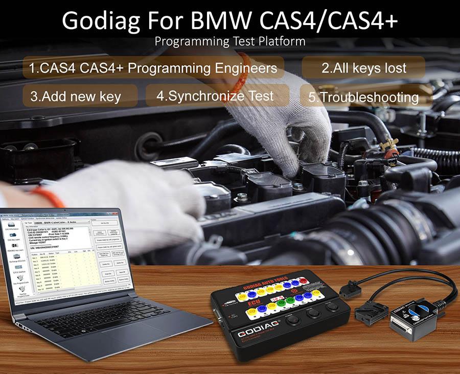 GODIAG CAS4 & CAS4+ Test Platform