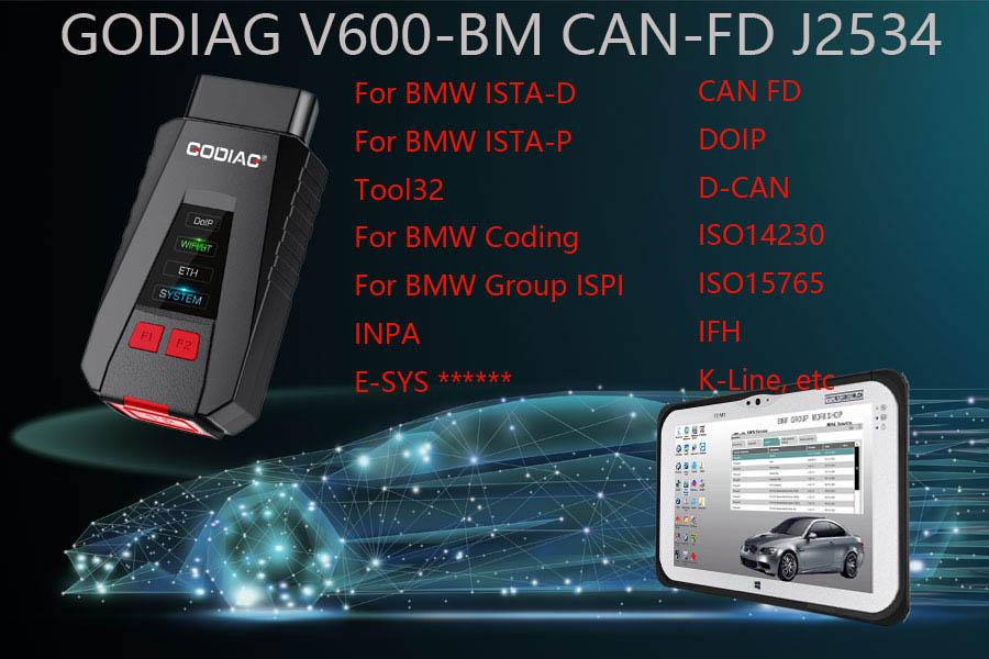 GODIAG V600-BM BMW Diagnostic and Programming Tool