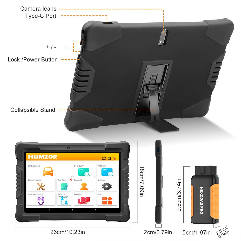 Humzor NexzDAS Pro Tablet