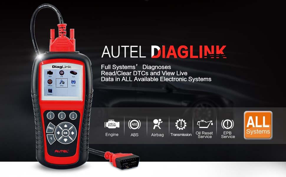 Autel Diaglink Full Systems Diagnostic Tool
