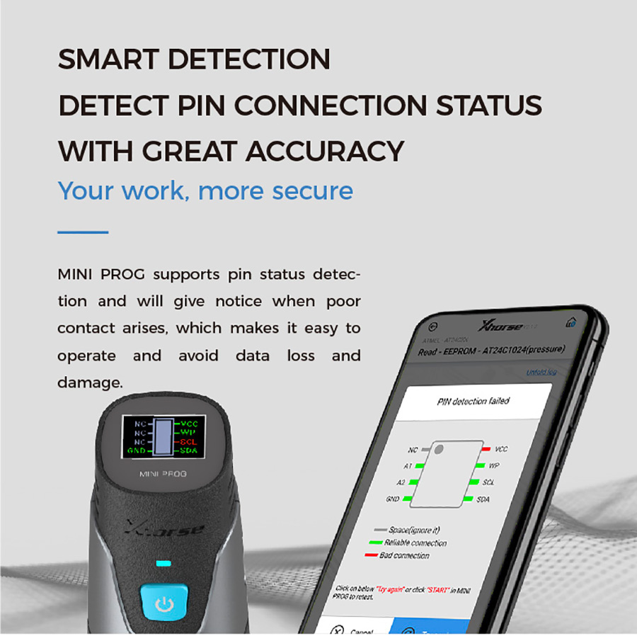 XHORSE MINI PROG Smart Detection
