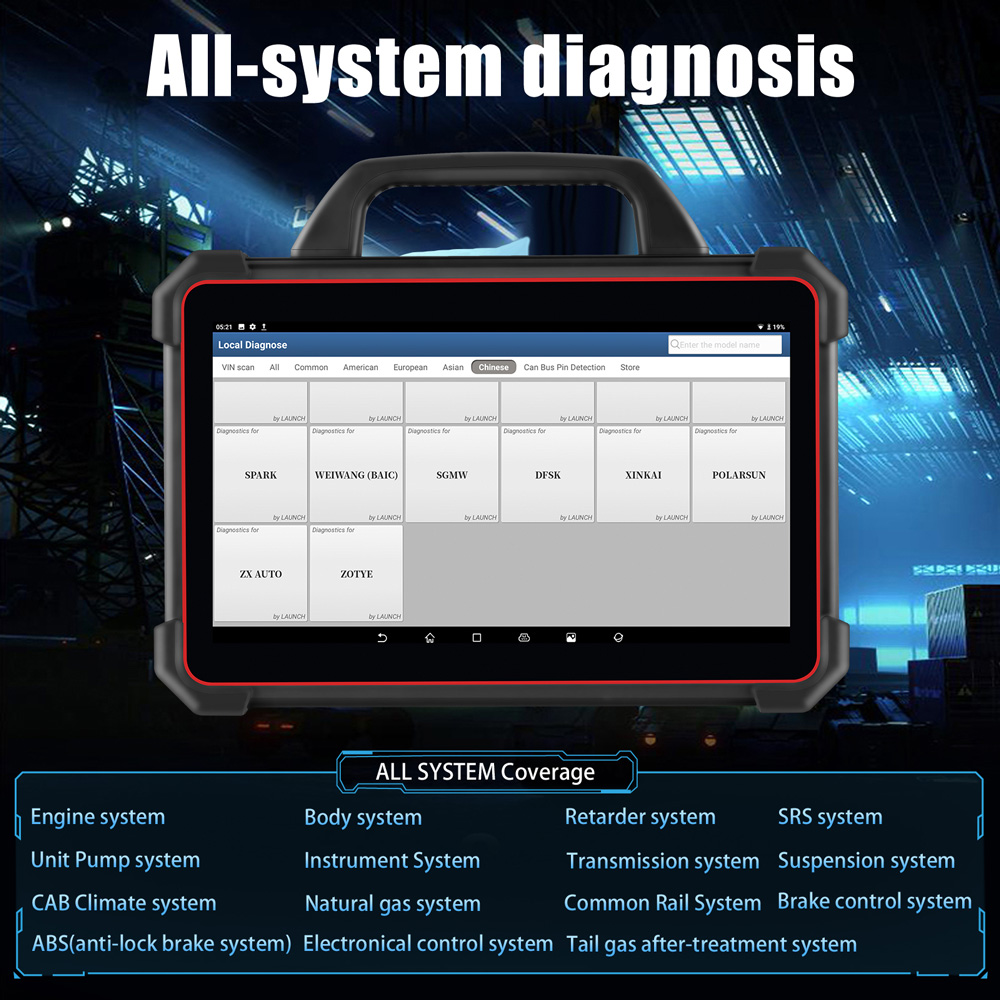X431 PAD 7 ALL SYSTEM DIAGNOSIS