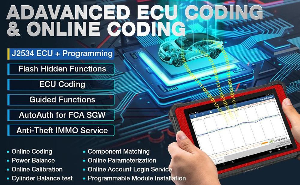 x431 pad vii ecu coding