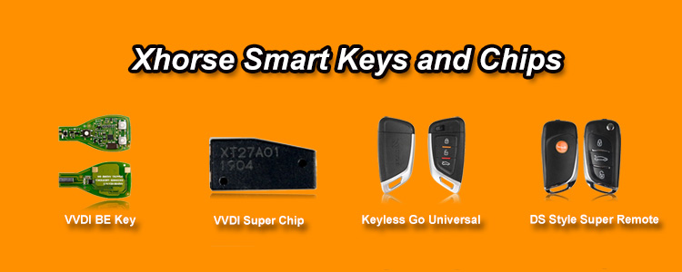 Hot Selling Xhorse Smart Keys and Chips