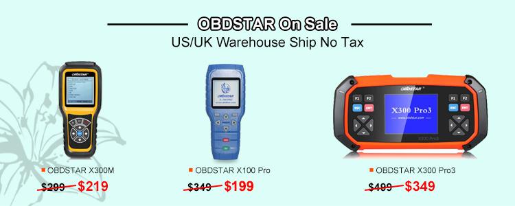 OBDSTAR Sale