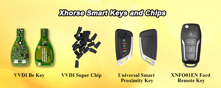 Xhorse Smart Keys and Chips