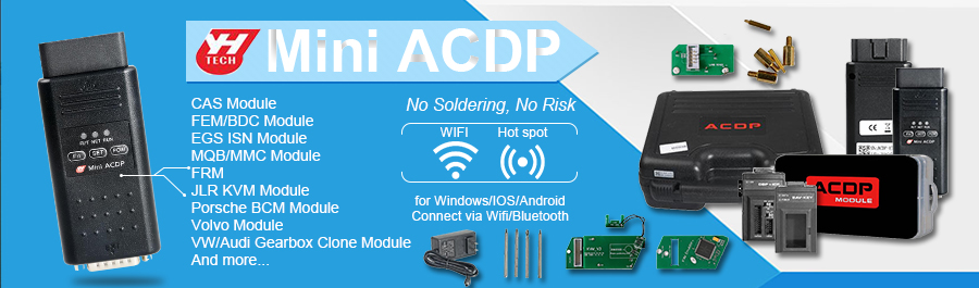 Yanhua Mini ACDP No Need Soldering