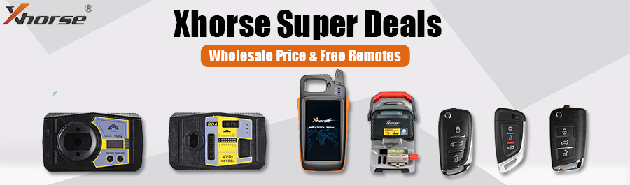 Xhorse Wholesale Price and Free Gifts